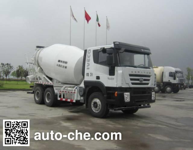 Автобетоносмеситель SAIC Hongyan CQ5255GJBHTG384
