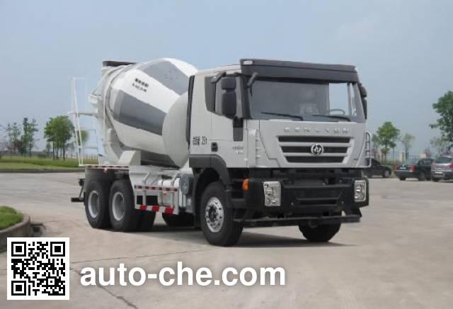 Автобетоносмеситель SAIC Hongyan CQ5255GJBHTG404