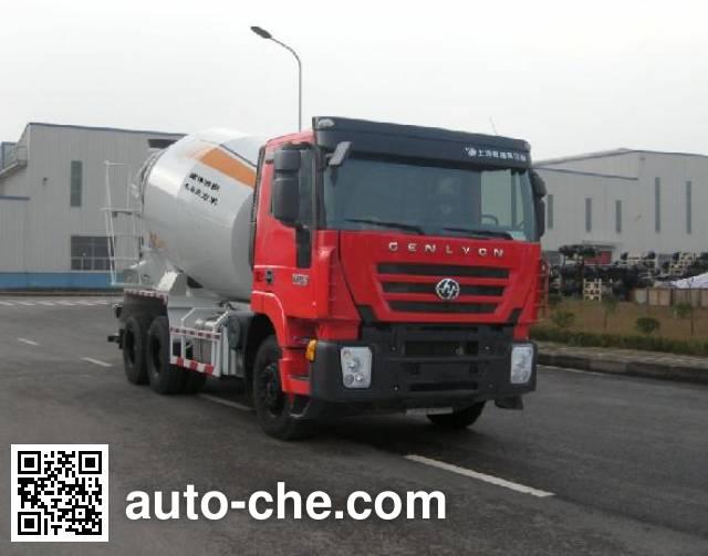 Автобетоносмеситель SAIC Hongyan CQ5255GJBHTG444