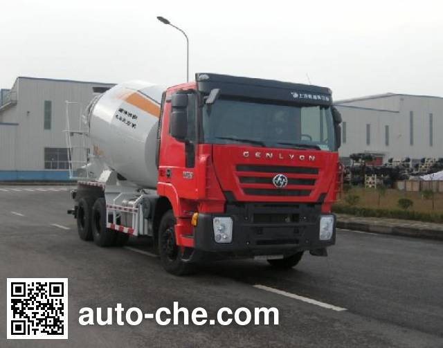 SAIC Hongyan автобетоносмеситель CQ5255GJBHTG444