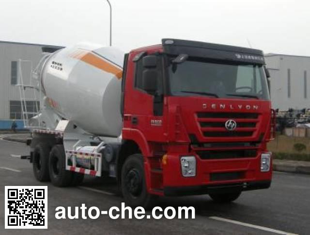 Автобетоносмеситель SAIC Hongyan CQ5256GJBHTG424TB