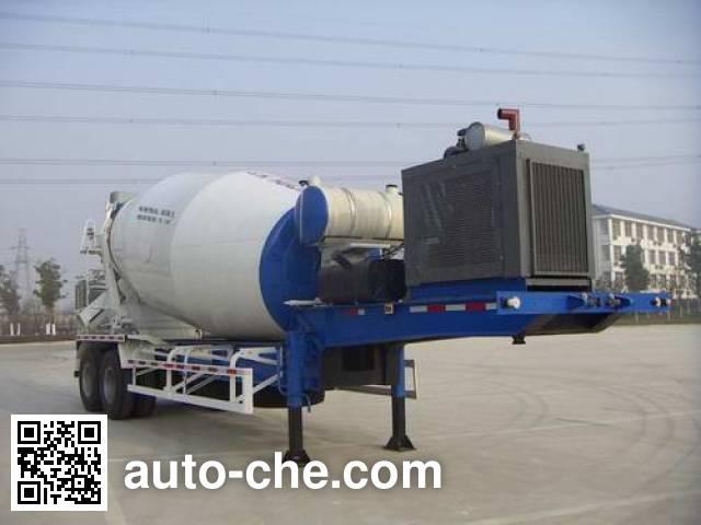 Полуприцеп бетоносмеситель Huajian HDJ9330GJB