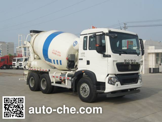 Автобетоносмеситель Jiangshan Shenjian HJS5256GJBW