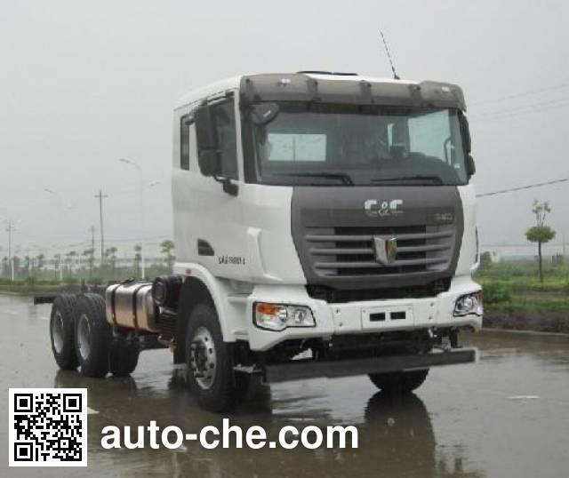 C&C Trucks шасси автобетоносмесителя (миксера) QCC5252GJBD654-E
