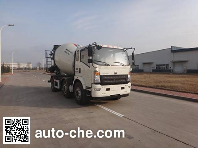 Автобетоносмеситель Qingzhuan QDZ5251GJBZHG3WD1