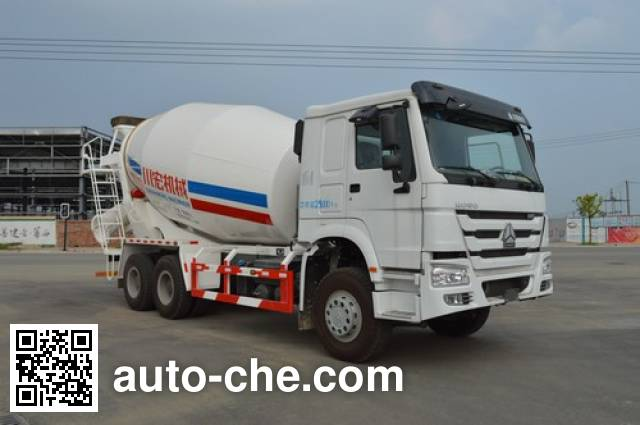 Автобетоносмеситель Qinhong SQH5255GJBZ