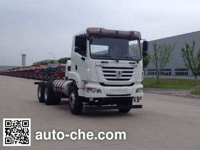 Шасси автобетоносмесителя (миксера) C&C Trucks SQR5252GJBN6T4-E1