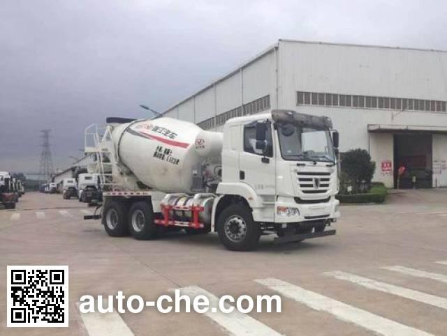 Автобетоносмеситель CIMC RJST Ruijiang WL5250GJBSQR36