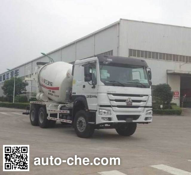Автобетоносмеситель CIMC RJST Ruijiang WL5250GJBZZ40