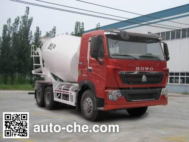 Автобетоносмеситель Sinotruk Howo ZZ5257GJBV434HC1