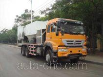 Автомобиль для приготовления и смешивания бетонных строительных смесей Yanshan BSQ5252TBH
