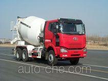 Дизельный бескапотный автобетоносмеситель FAW Jiefang CA5250GJBP66K24L2T1E